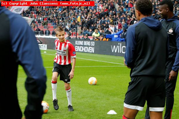 Mascotte Mike Aaldering