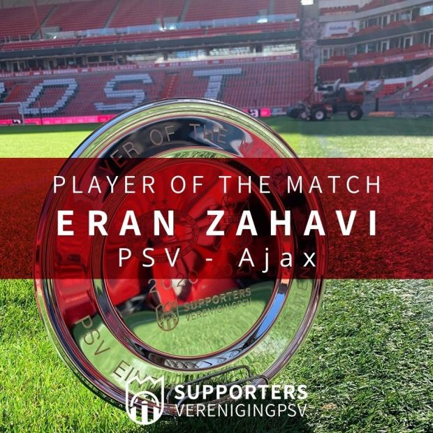 Player of the Match: Eran Zahavi