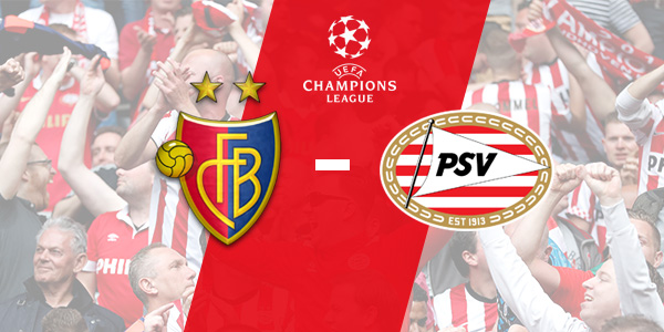 Champions League : FC Basel - PSV (2 - 1)