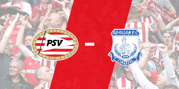 Seizoen 2019/2020 - Europa League : PSV - Apollon Limassol (3 - 0)