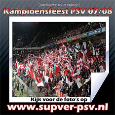Fotoreportage OpdeFoto van PSV kampioensfeest
